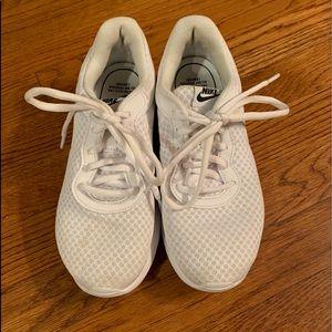 White Nike women's size 6